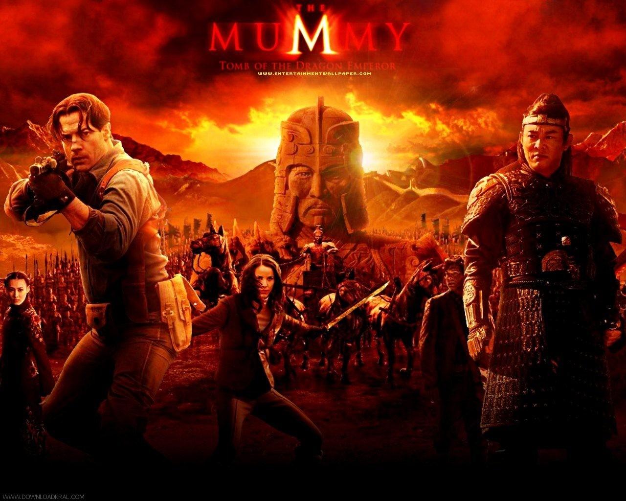 فیلمم The Mummy 3 Tomb of the Dragon Emperor 2008