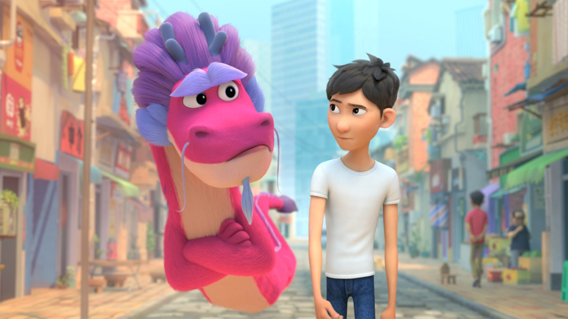 انیمیشن 2021 Wish Dragon